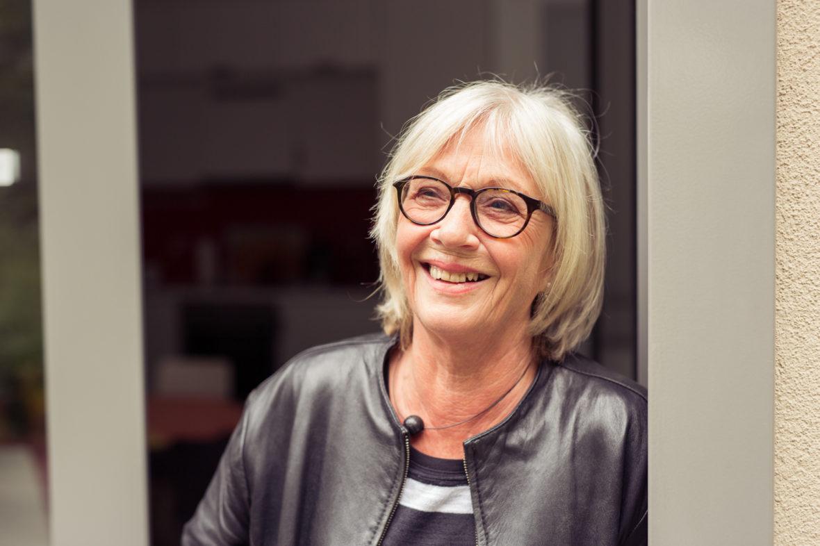 Gisela Hoyer hat das Elternhaus Teddybär mitgegründet.