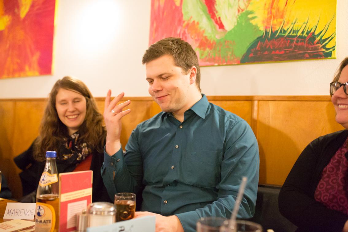 Benjamin Beckmann arbeitet schon seit einigen Jahren ehrenamtlich bei Arbeiterkind.de.