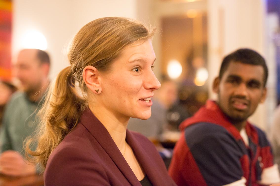 Eva Busemann kann sich noch gut daran erinnern, wie es war, als Tochter aus einem Nicht-Akademiker-Haushalt an die Universität zu kommen.