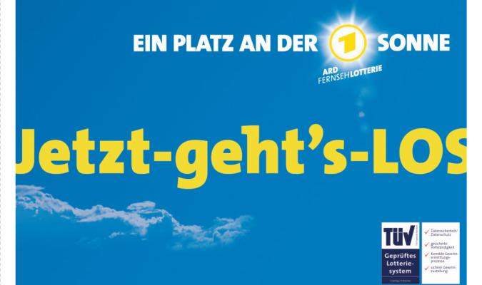 Deutsche Fernsehlotterie Los PrГјfen