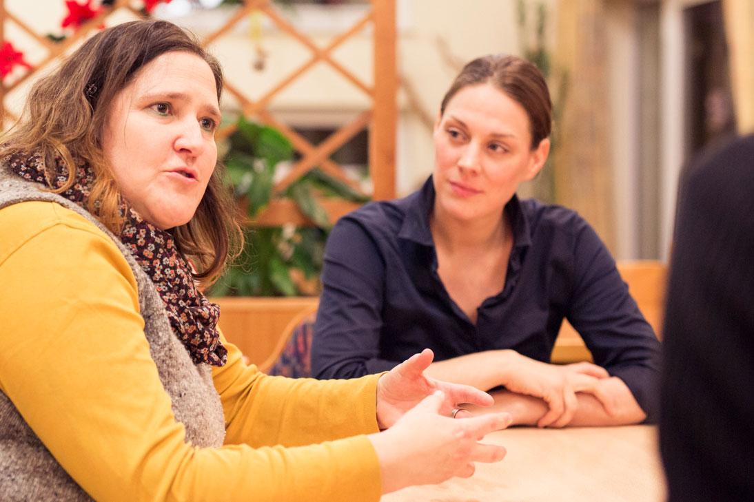 Claudia Löding erzählt vom Quartiersprojekt in Lauenburg