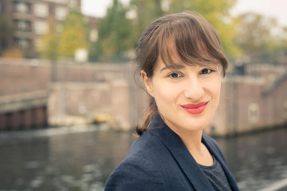 Theresa Senk, Geschäftsführerin von tatkräftig e.V.