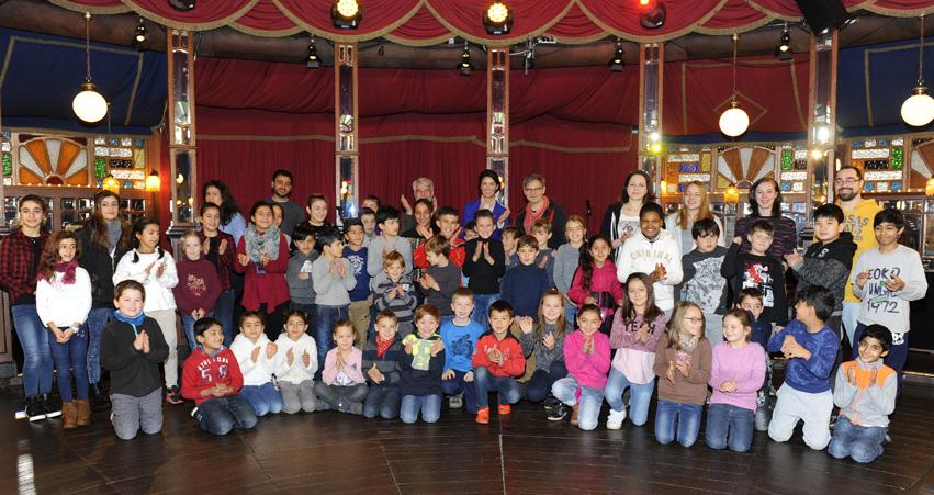 Abschlussfeier der Kinderreisen 2016 im Europa-Park in Rust.