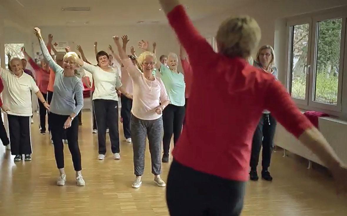 Sportlich aktiv bleiben mit Demenz