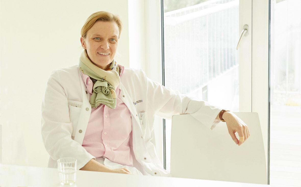 Dr. med. Annette Bley von der Leukodystrophie-Sprechstunde im Universitätsklinikum Hamburg-Eppendorf
