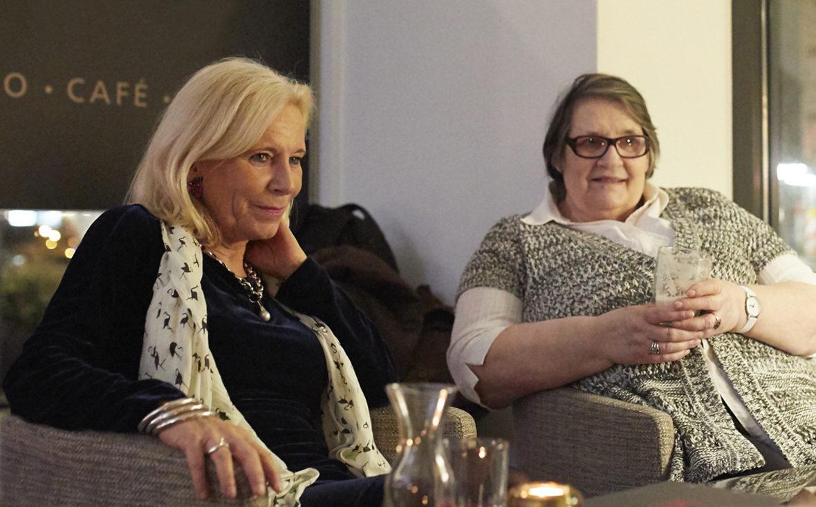 Christine Worch von den Kulturisten Hoch2 mit Teilnehmerin Frau Rieper aus Hamburg