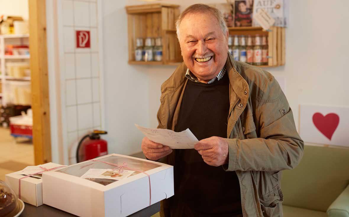 Zu Besuch bei Kuchentratsch: Lieferopa Richard