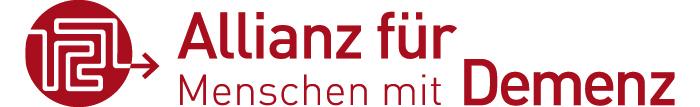 Das Logo der Allianz für Menschen mit Demenz.