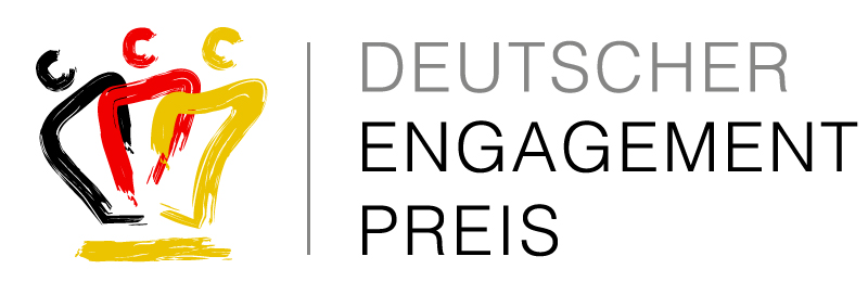 Das Logo des Deutschen Engagementpreises.