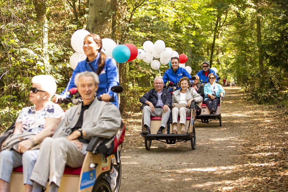Radeln ohne Alter e.V. der Verein nimmt Senioren in Rikschas mit zu Ausfahrten