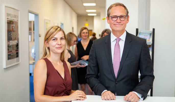Bundesratspräsident Michael Müller Berlin2