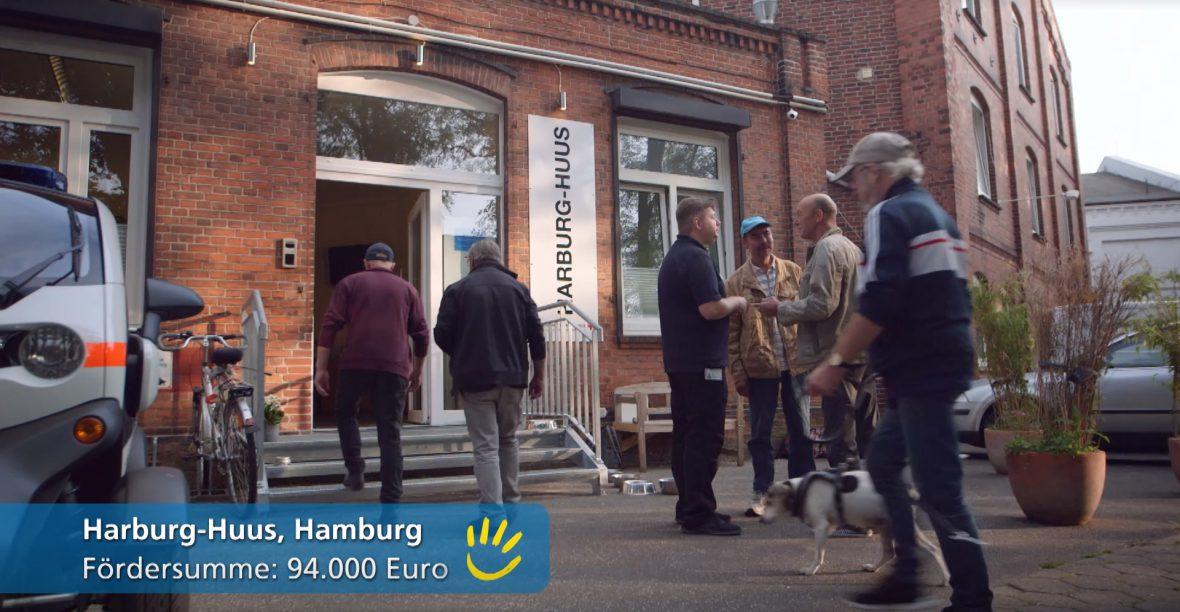 Harburg-Huus - hier finden Obdachlose die wichtige Unterstützung die notwendig ist