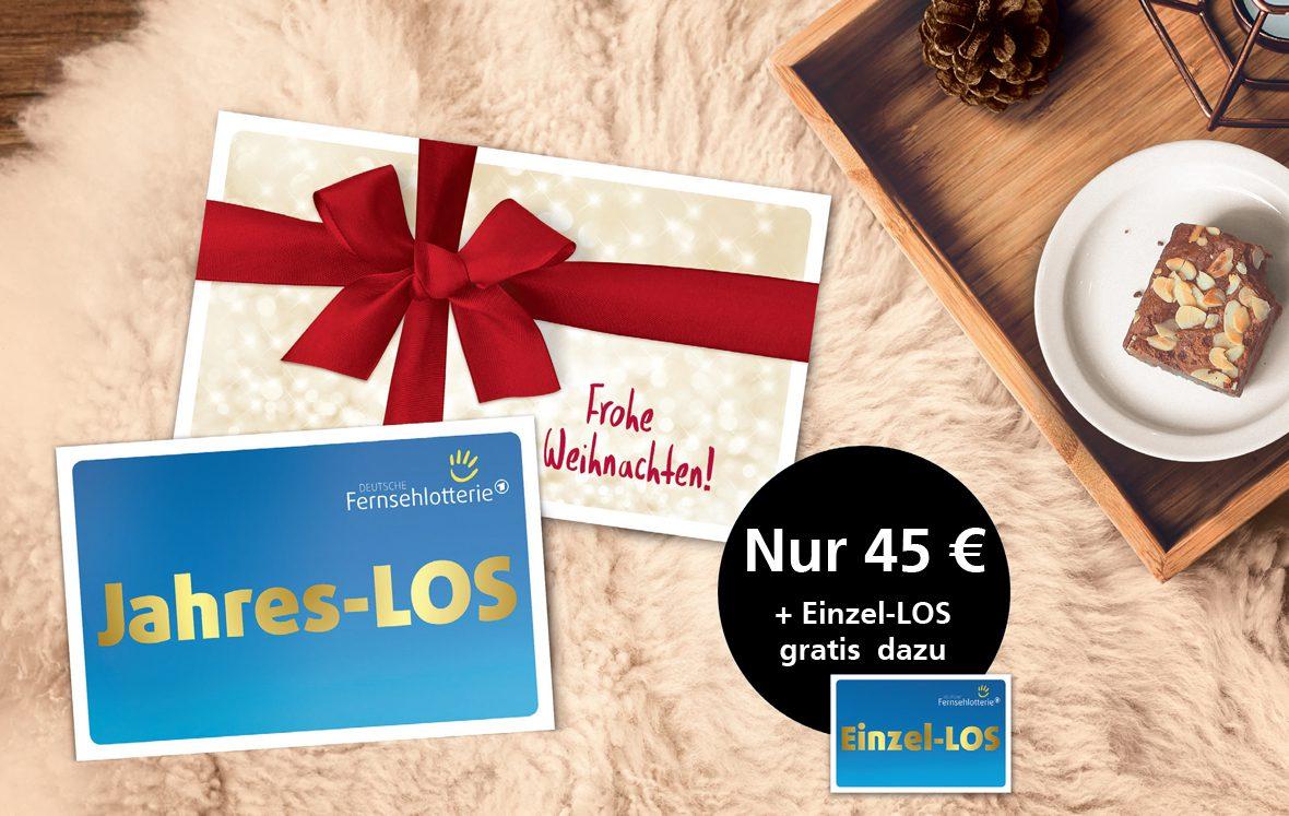 Tchibo Vorteilsaktion Jahres-LOS und gratis Einzel-LOS