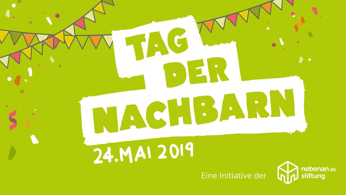Logo Tag der Nachbarn am 24. Mai 2019