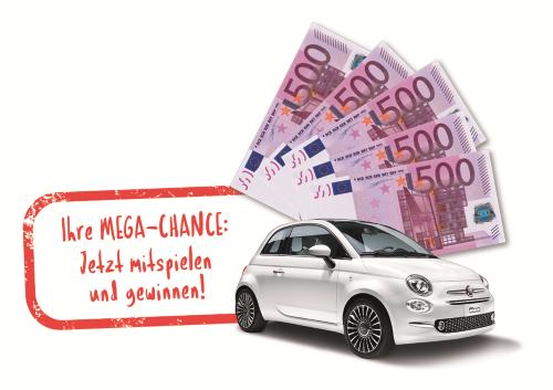 Auto und Geldscheine