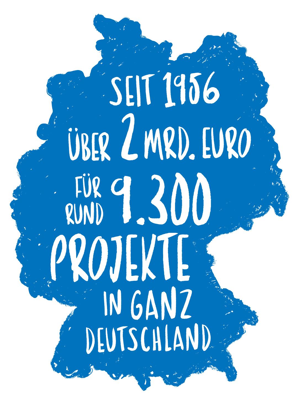 Deutschlandkarte 2019
