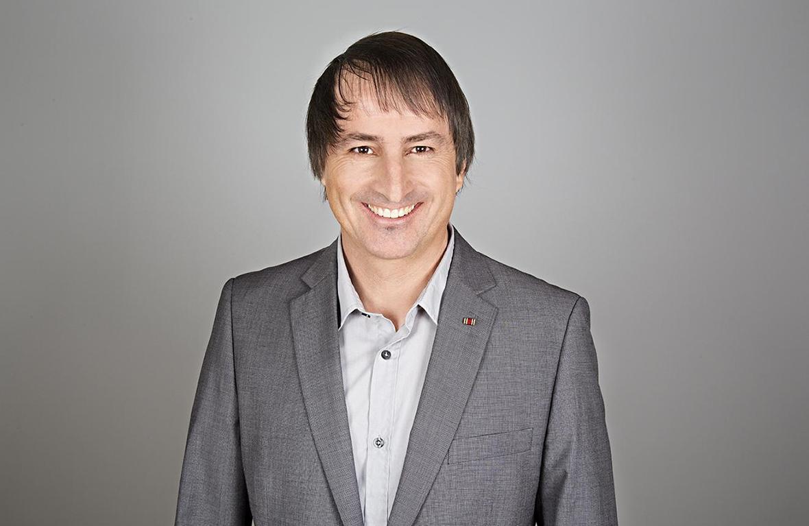 Eckhard Baumann, Leiter des Vereins Straßenkinder e.V.