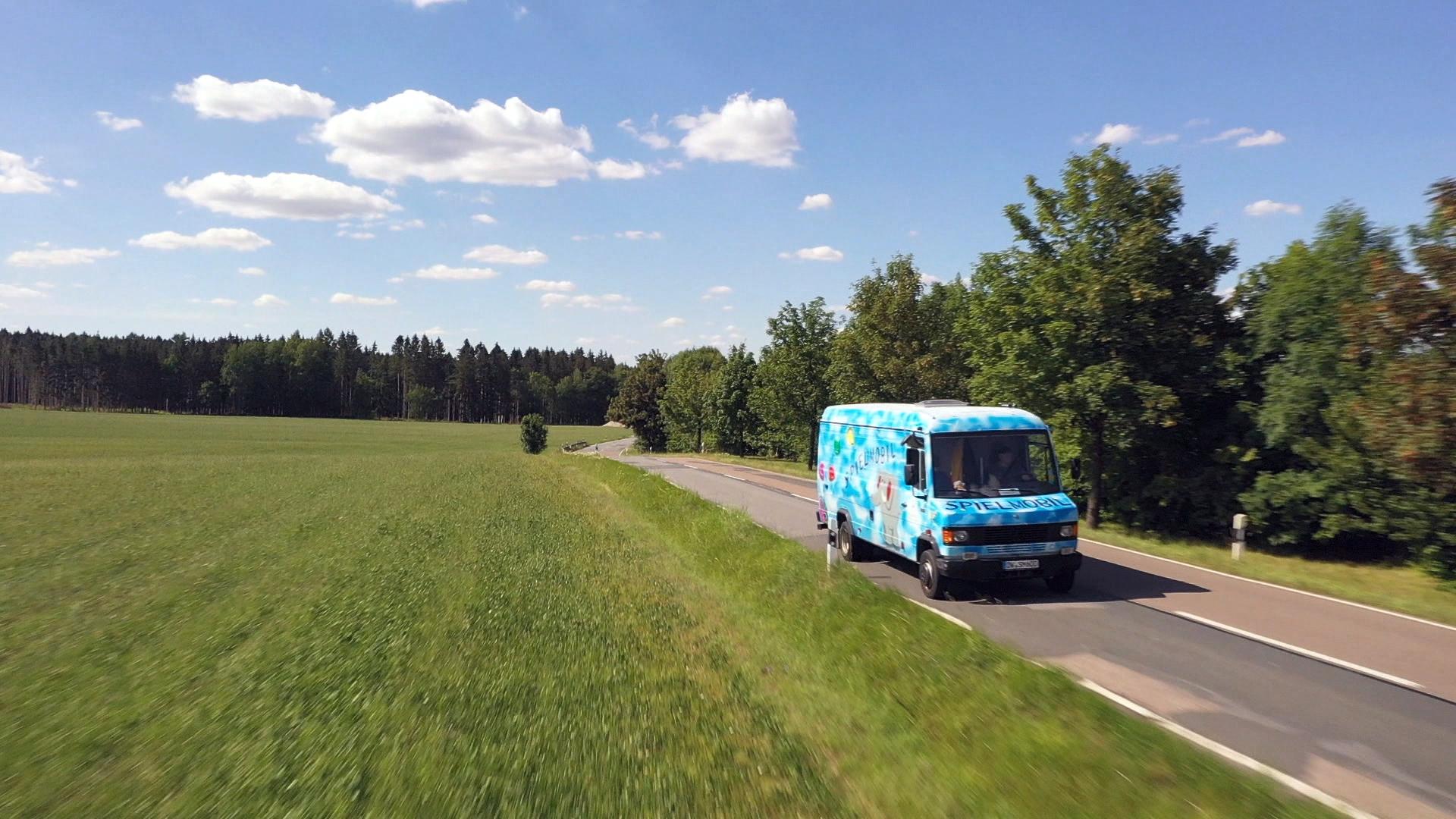 Das DKSB bietet auch ein Spielmobil in Form eines LKWs an, das im Polypark Dippoldiswalde zur Verfügung steht und auch angemietet werden kann. Bild: Deutsche Fernsehlotterie