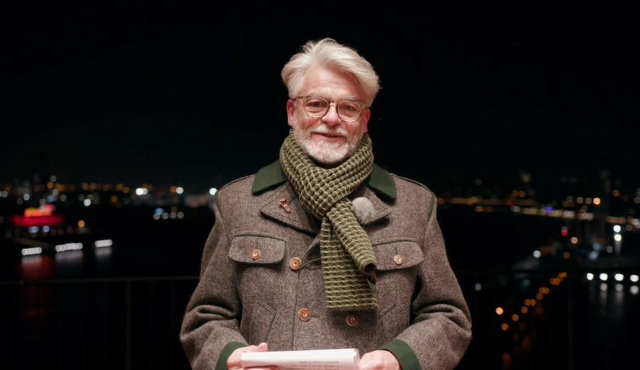 Christian Kipper bei der Laudatio zu Meet a Jew