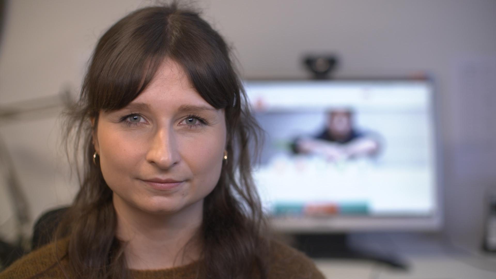 Online-Beraterin Kristin Frank hilft Kindern und Jugendlichen aus dysfunktionalen Familien.