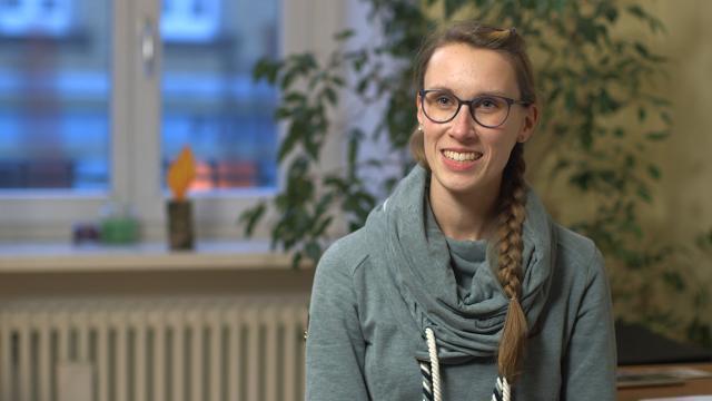 Anne Hofmann arbeitet als Quartiersmanagerin im mobilen Seniorenbüro.