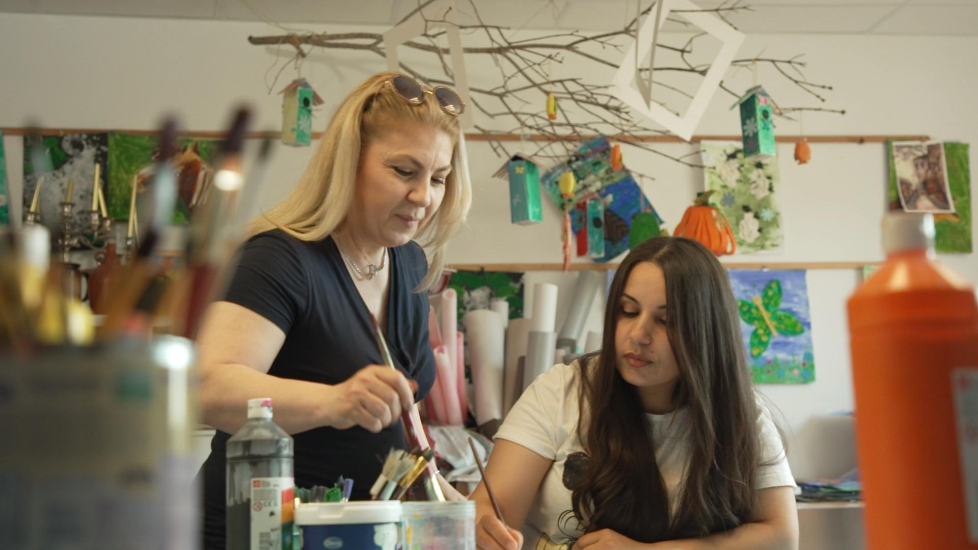 Das von uns geförderte Projekt hilft Frauen und Familien, am sozialen Leben teilzunehmen.
