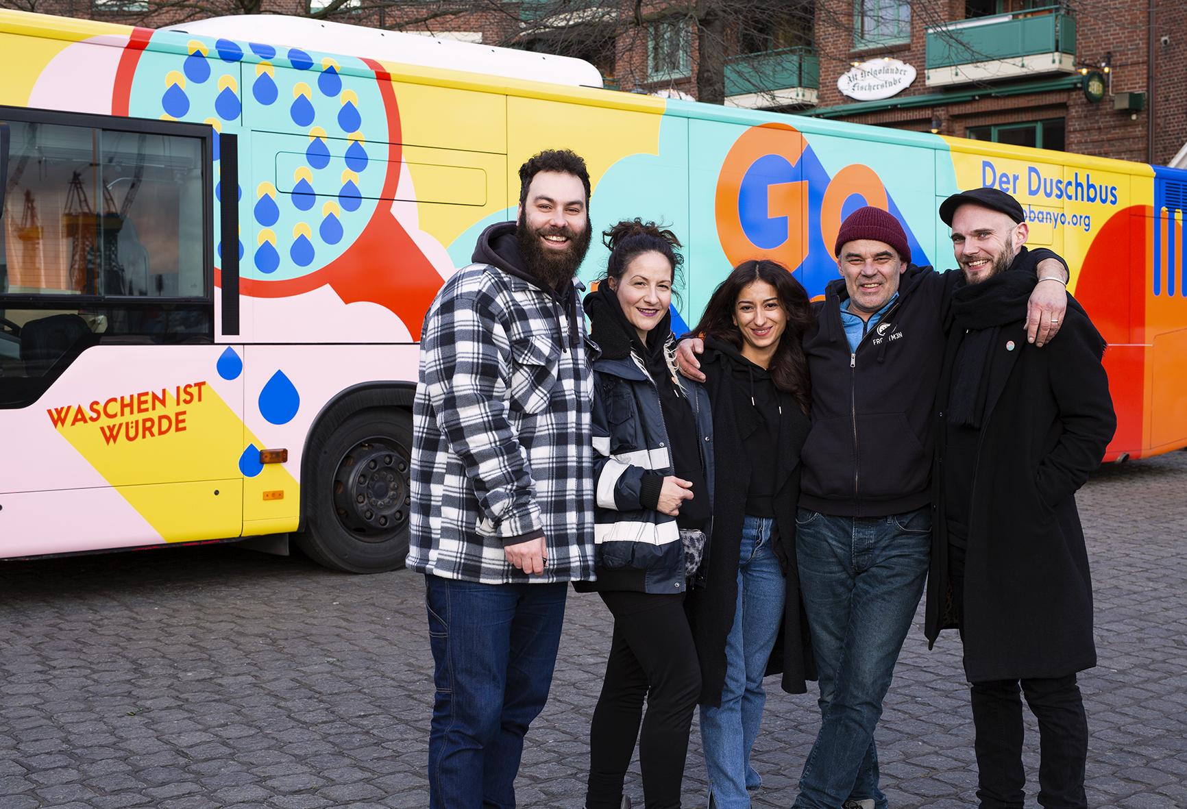 Eines von vielen geförderten Projekten in Hamburg: GoBanyo
