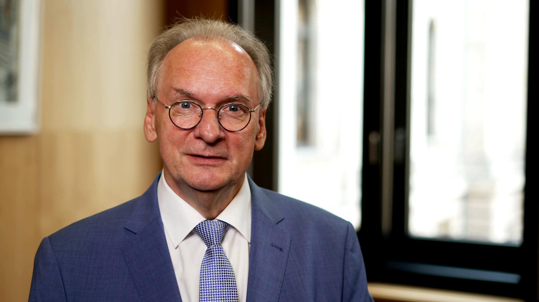 Bundesratspräsident  Reiner Haseloff, Schirmherr der Deutschen Fernsehlotterie und der Stiftung Deutsches Hilfswerk.